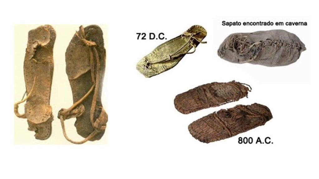 imagem de calçados nos tempos bíblicos