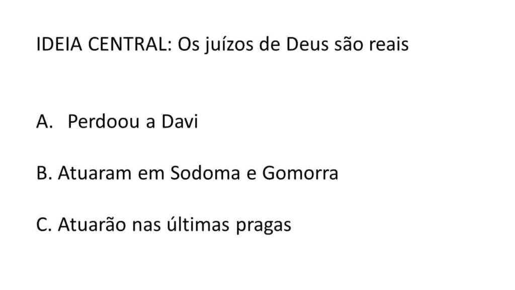 ORDEM CRONOLOGICA DO SERMÃO TEMÁTICO