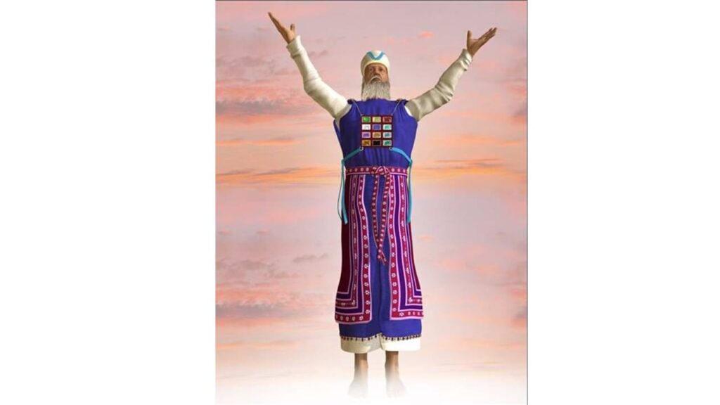 imagem de homem com vestes do sumo sacerdote
