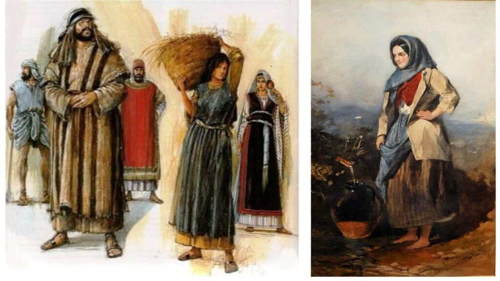 vestuários nos dias bíblicos
