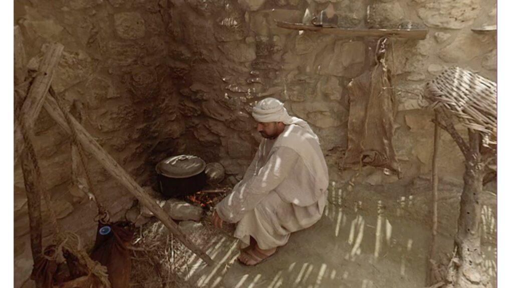 aquecimento das casas dos dias bíblicos