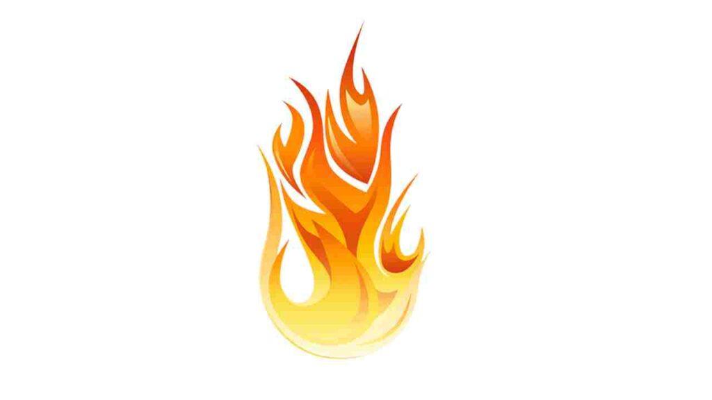 fogo simbologia bíblica espírito