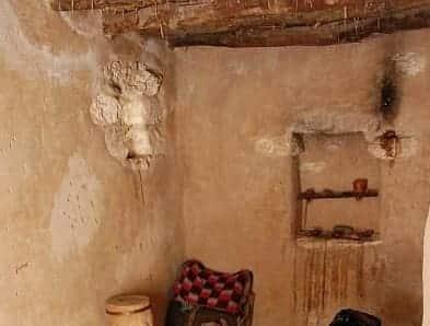 paredes das casas nos tempos bíblicos