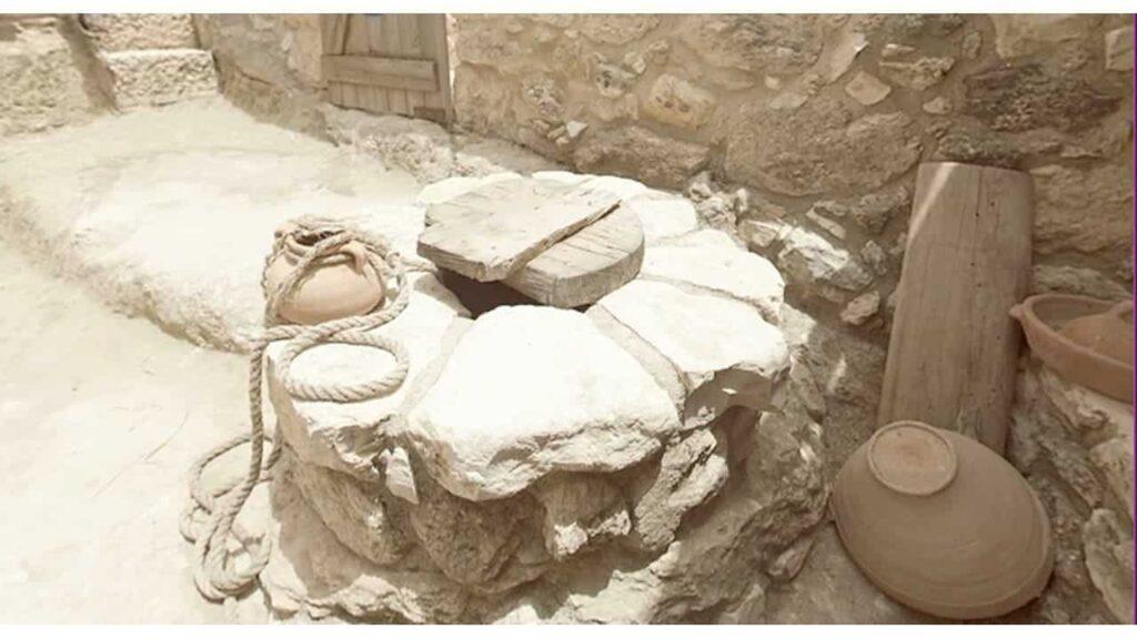 poço de agua das casas dos tempos bíblicos