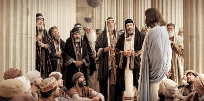 Jesus ignora os farizeus