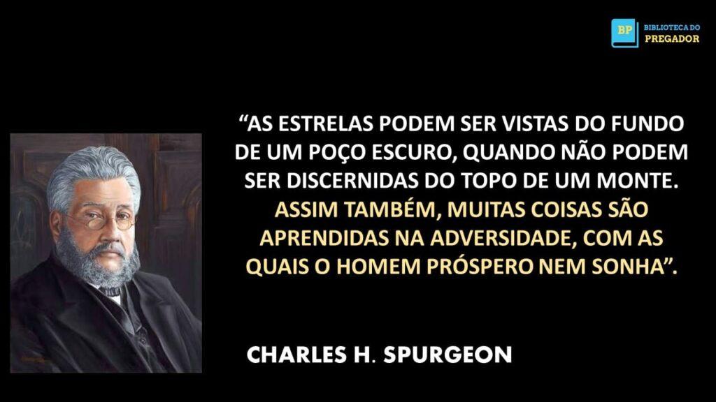FRASE DO PREGADOR SPURGEON