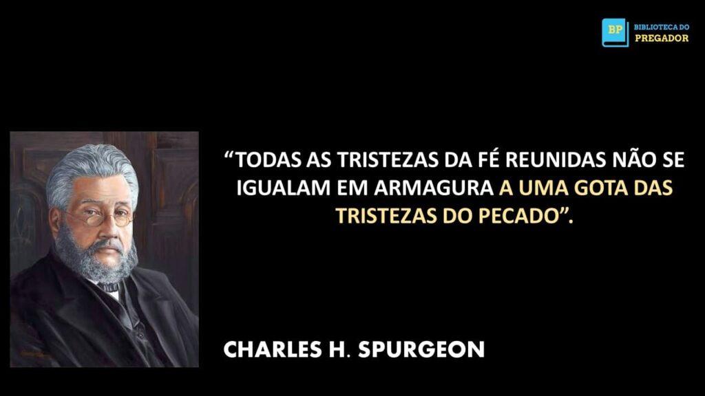 FRASE DE CHARLES SPURGEON . H.