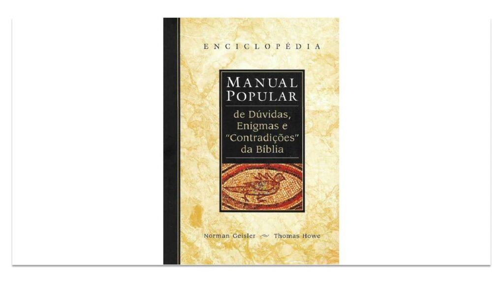 MANUAL POPULAR DE DÚVIDAS, ENIGMAS DA BÍBLIA – PDF