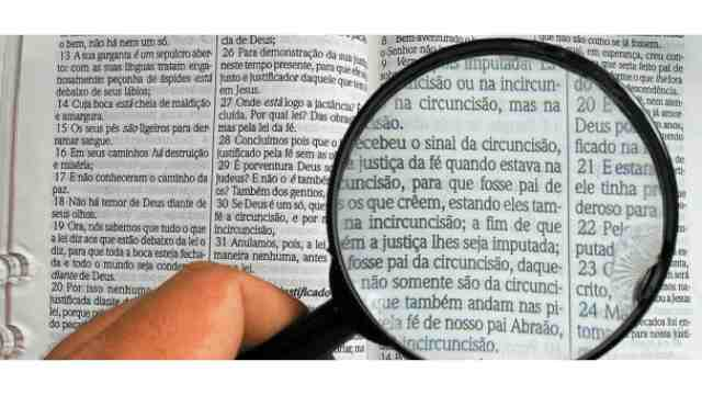 como interpretar o texto bíblico