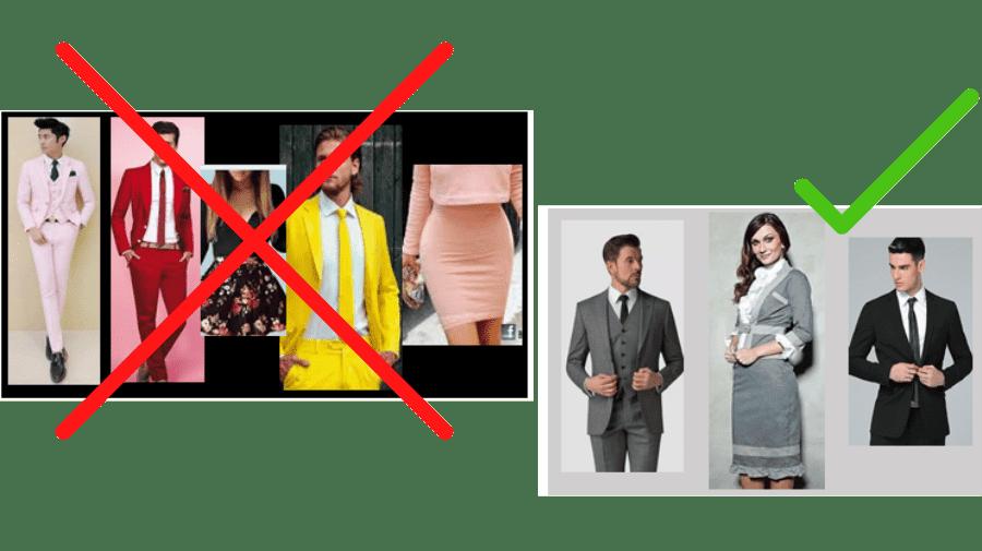 tipos de vestimentas indicado para pregadores