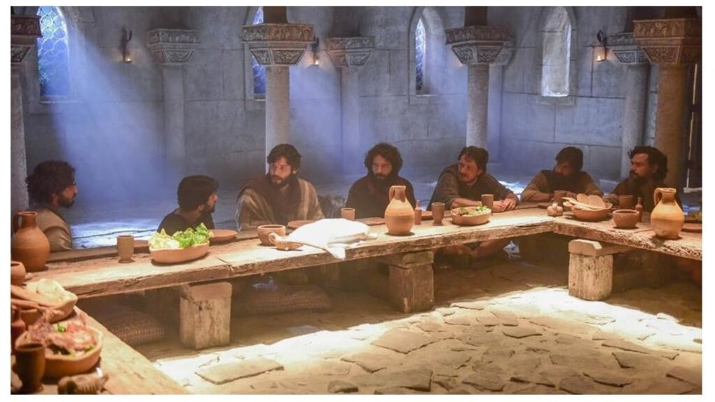a mesa para alimentações e refeições nos tempos bíblicos
