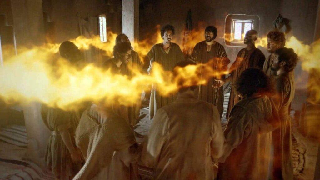 apóstolos cheios do espírito santo