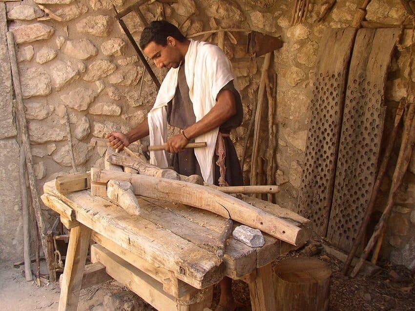carpinteiro - profissão dos tempos bíblicos