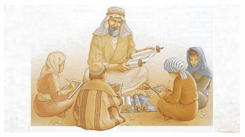 como era a educação e alfabetização nos tempos bíblicos