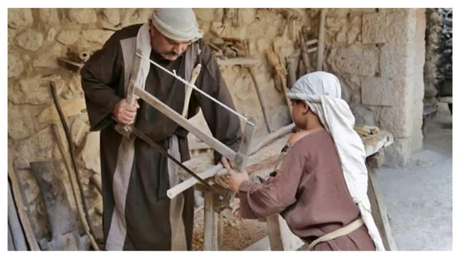 como era o trabalho nos tempos bíblicos