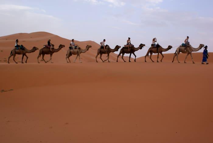 como eram as viagens nos tempos bíblicos