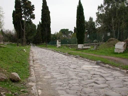 estrada de roma-via ápia-viagens nos tempos bíblicos