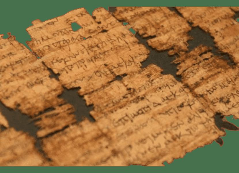 pergaminhos - ensinos nos tempos bíblicos