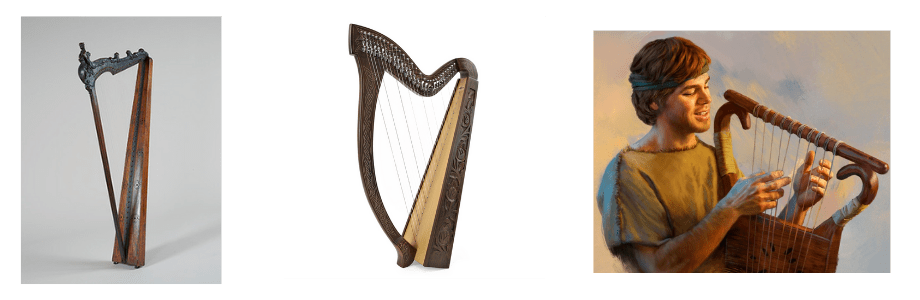 harpa - instrumento musical dos tempos bíblicos
