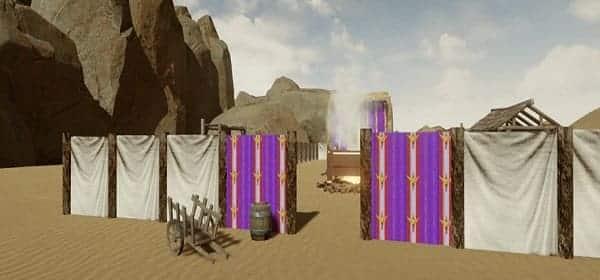 cores no tabernaculo