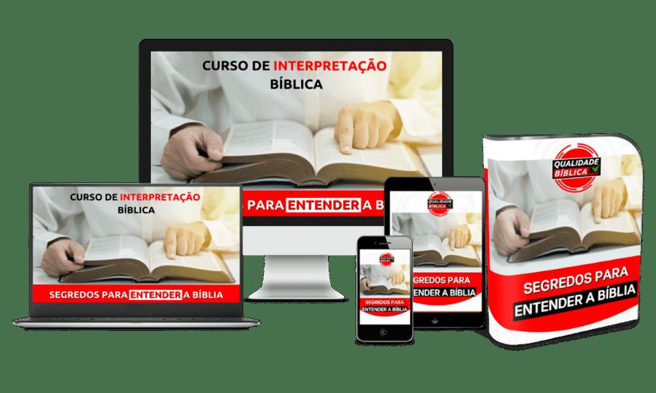 curso de interpretação bíblica qualidade bíblica