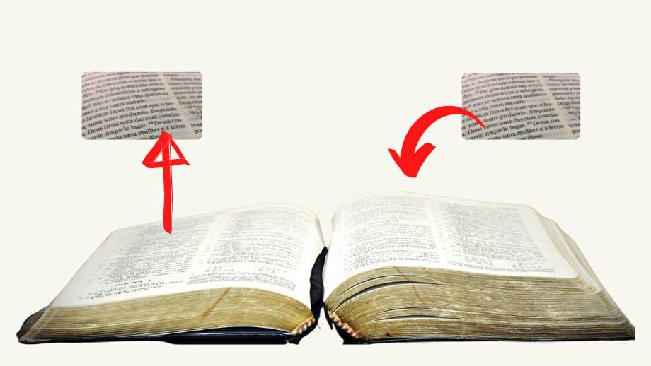 passagens paralelas da biblia
