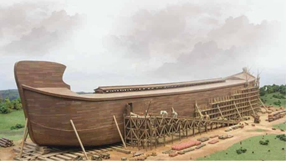 quantas pessoas entraram na arca de noé
