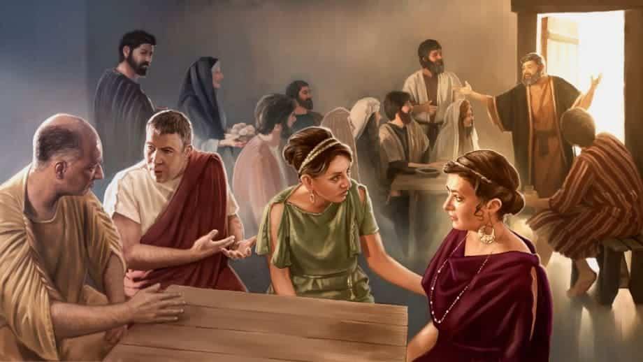 hospitalidade na bíblia - saudações