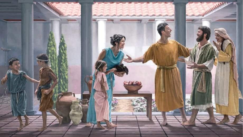 hospitalidade nos tempos bíblicos