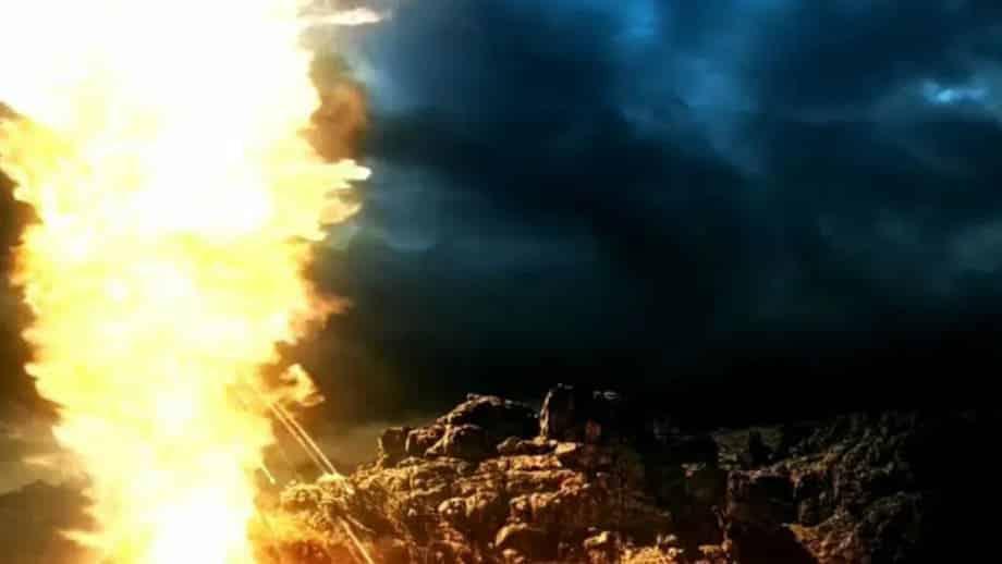 desceu fogo do Senhor do céu