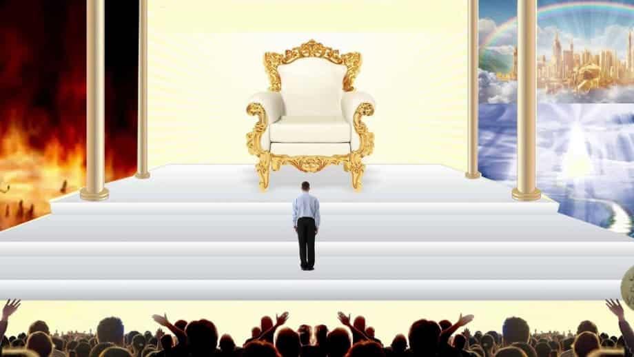 O grande trono branco