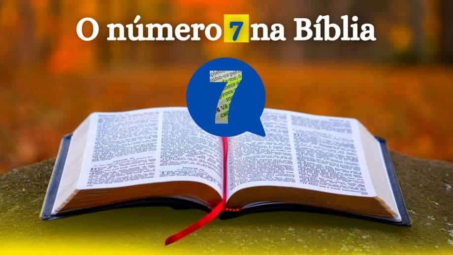 O número 7 na Bíblia