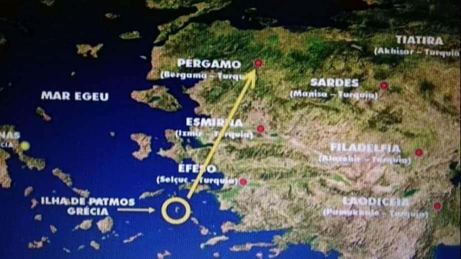 localização ilha de patmos