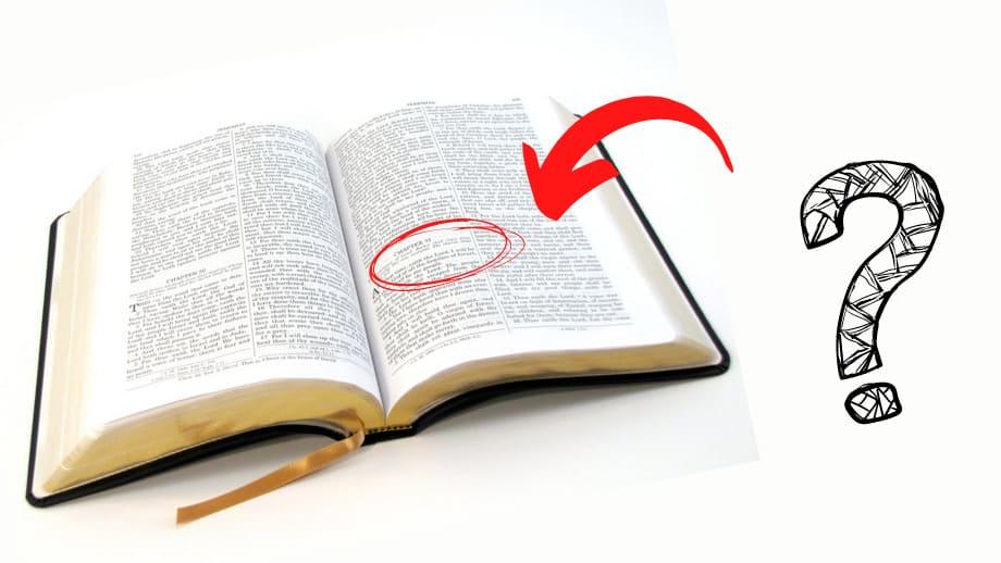 7 coisas estranhas na Bíblia