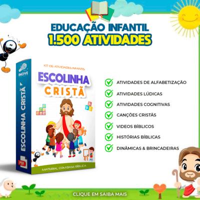 kit escolinha cristã infantil