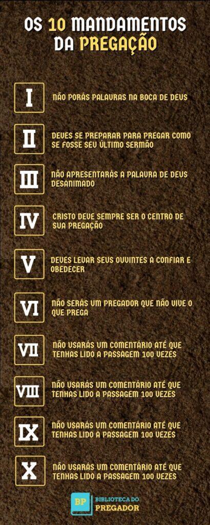 10 mandamentos da pregação (1)